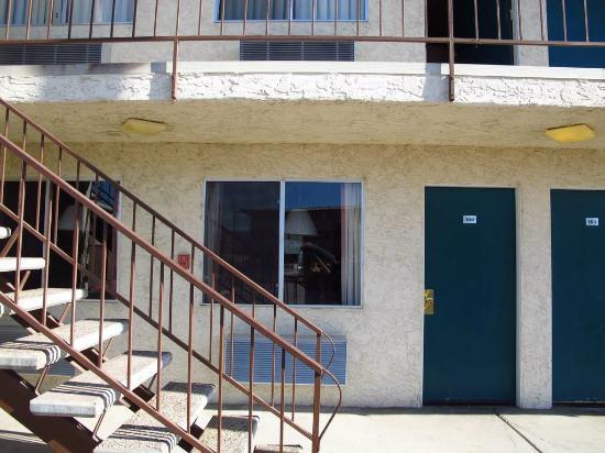 Bridgewater Motel : Unser Zimme von aussen
