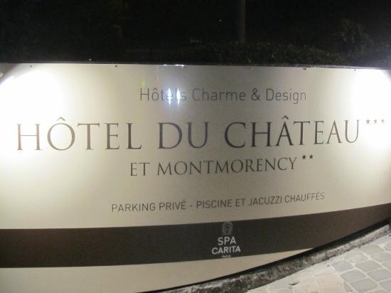 Hotel Montmorency: Entrée