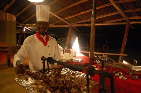 Olowuaru Keri Mara Camp: Ready for some mouth watering BBQ!