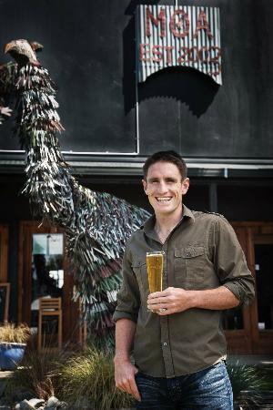 Moa Brewery Bar : Josh Scott, Founder of Moa Brewing Co.