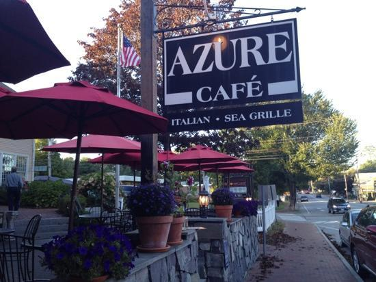 Freeport, Maine - very nice small restaurant! - Picture of Azure Cafe,  Freeport - Tripadvisor