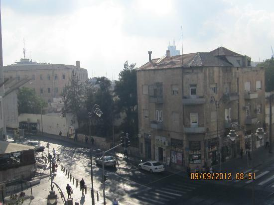 Abraham Hostel Jerusalem: View from room