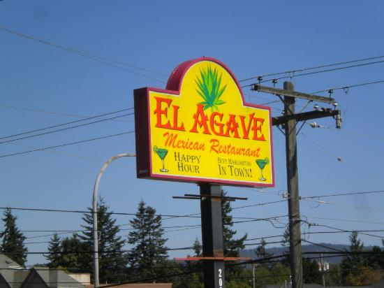 El Agave Sign