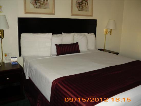 Kings Inn Anaheim: King Bed
