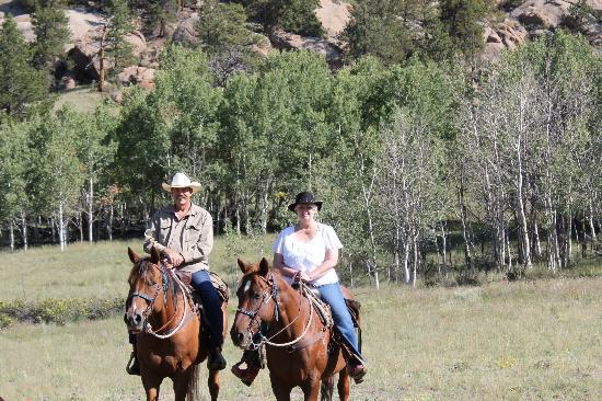 Tarryall River Ranch: horseback riding