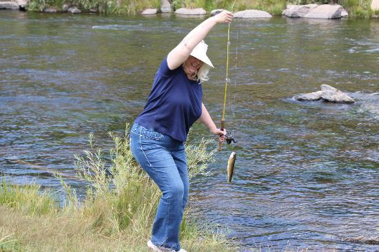 Tarryall River Ranch: caught a fish