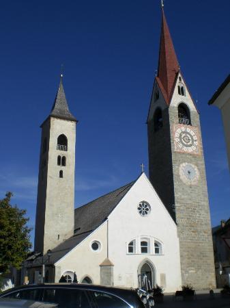 Gasthof Traube: la chiesa di S. Lorenzo