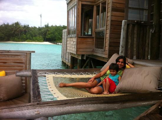 Gili Lankanfushi Maldives: relaxing