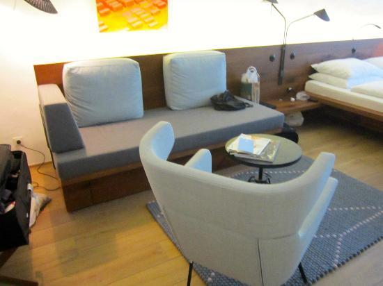 Couch Picture Of Arthotel Blaue Gans Salzburg Tripadvisor