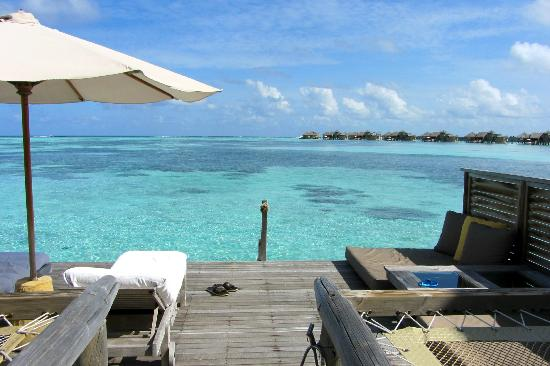 Gili Lankanfushi Maldives: view from room