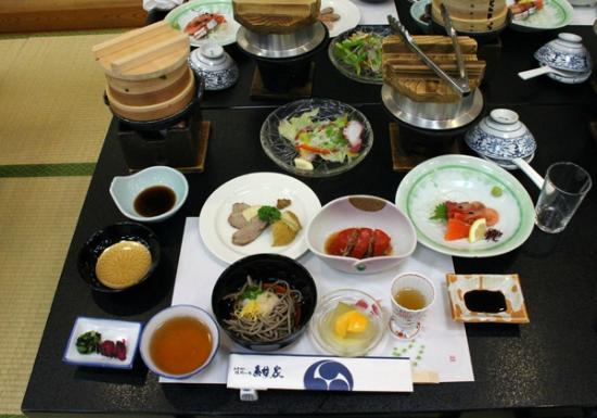 Yutei Konya: 大広間での夕食
