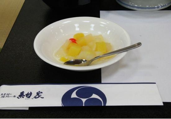 Yutei Konya: 夕食後のフルーツポンチ