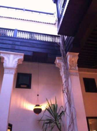 Riad Dixneuf La Ksour : The courtyard
