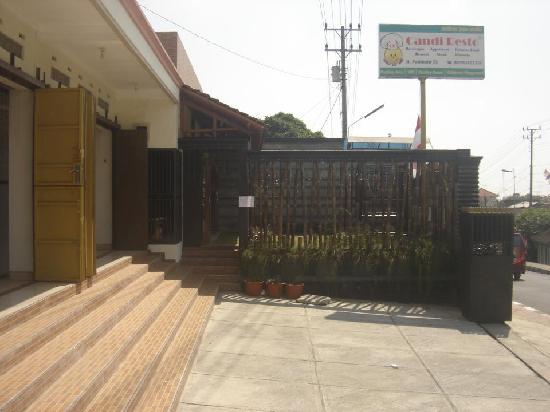 Lokasi Candi Resto Salatiga