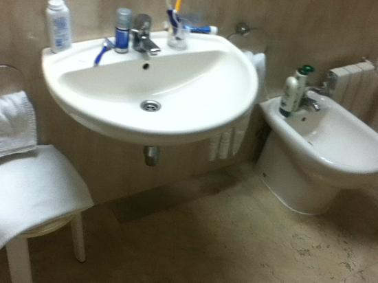 ‪هوتل يارامار: bidet, handle on wall near to hairdryer so it can been used
