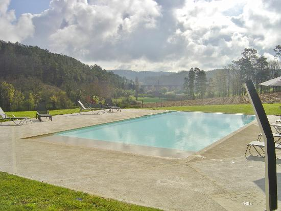 Domaine du Champ de l'Hoste: Piscine