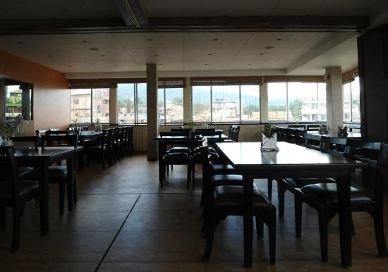 The Boulevard Hotel: Rooftop Bistro, morning 7:30
