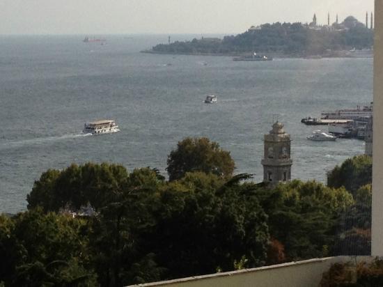 Swissotel The Bosphorus: Bosphorus view from hotel room