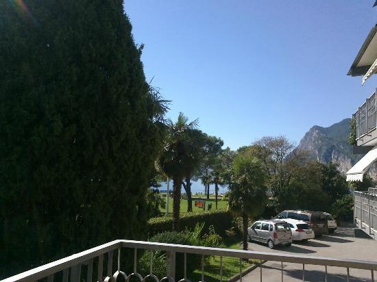 Bellariva Hotel: La vista dalla terrazza dell'appartamento