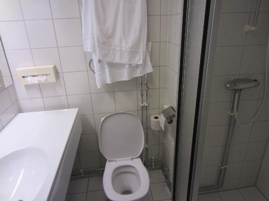 Quality Hotel Panorama: crappy toilet