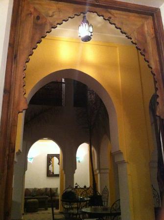 Riad Nerja: Patio del Riad