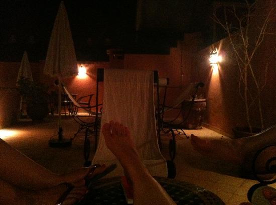 Riad Nerja: Relax en la terraza