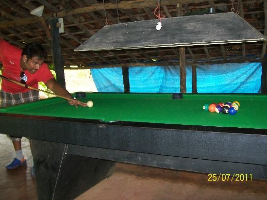 Hidden Village: pool table, carom etc