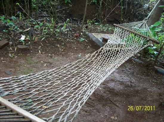 Hidden Village: rooms comes with a hammock