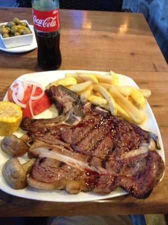 El Gaucho: T-bone steak