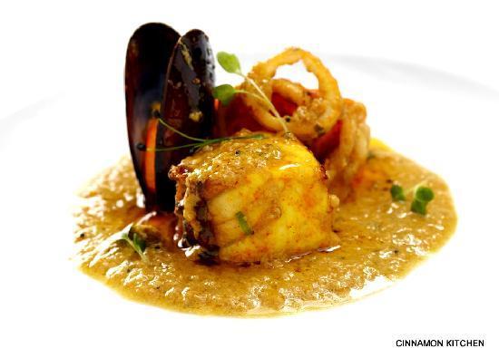 Photo of Indian Restaurant Cinnamon Kitchen at 9 Devonshire Square, London EC2M 4YF, United Kingdom