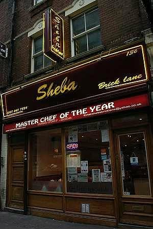The Queen of Brick Lane Curries - Sheba