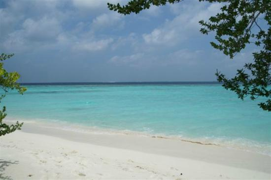 Soneva Fushi: Beautiful beach