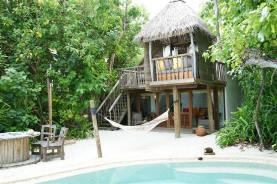Soneva Fushi: Crusoe Villa with pool