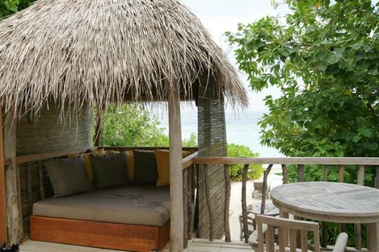 Soneva Fushi: Second floor of Crusoe Villa