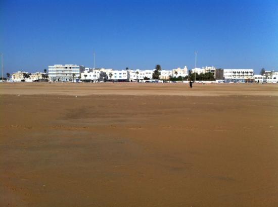 Hotel des Iles: Vista desde la playa