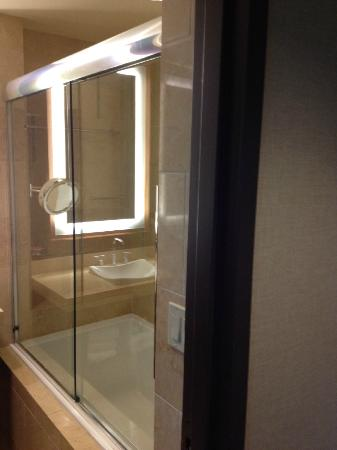 Aliante Casino + Hotel + Spa: 浴室(画像が悪くて済みません!) 