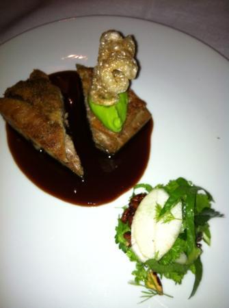 Reserve Restaurant Cellar: the pork