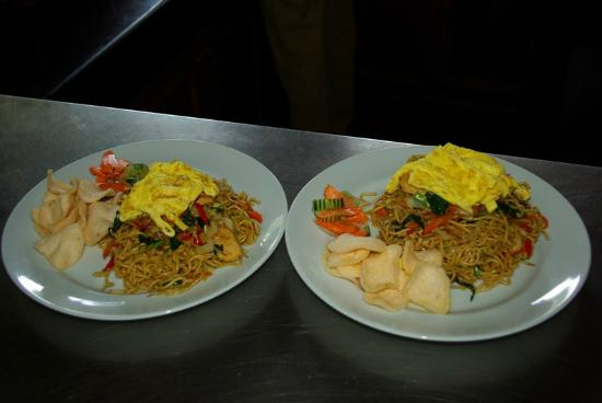 Royal Jimbaran: Royal Bali Beach Club: Results of cooking class