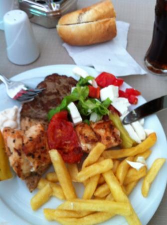 Hotel Marbella: evening meal!