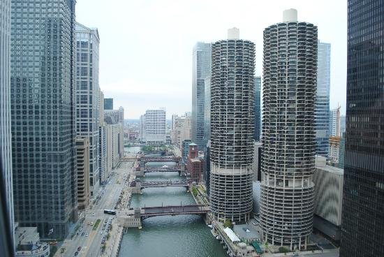 Wyndham Grand Chicago Riverfront: The view from my room