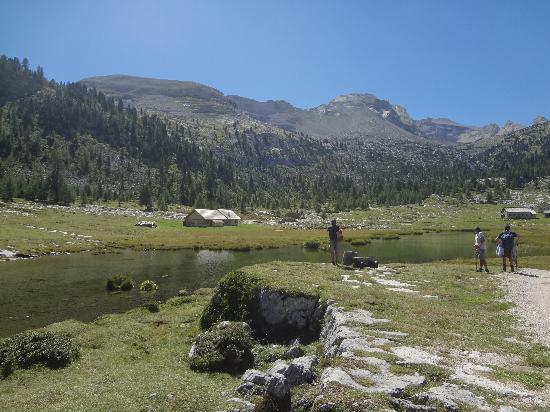 Ristorante del Rifugio Lavarella: Panorama