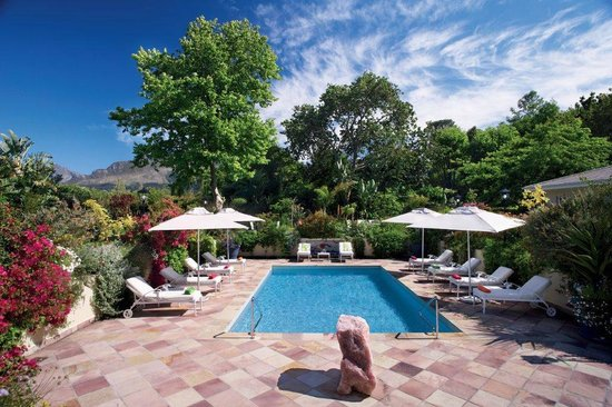 The Last Word Constantia: The pool area