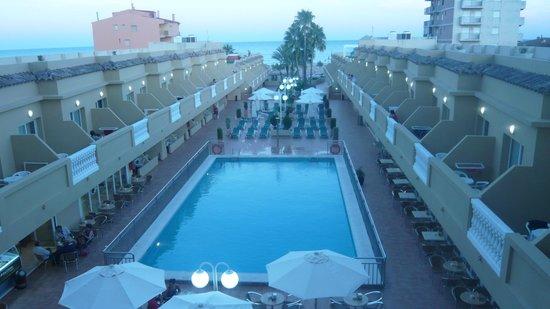 Hotel RH Casablanca & Suites: Vistas de la terraza