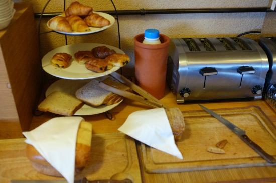 Cuq en Terrasses: Le choix de pain