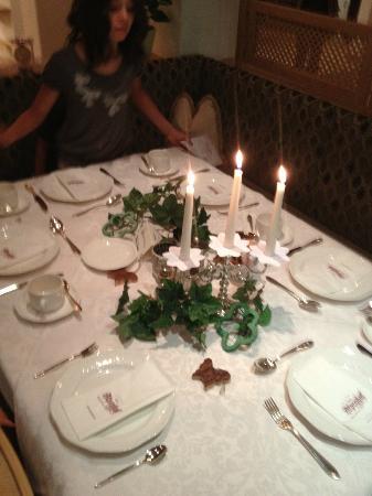 Hotel Alpenhof Hintertux: dressage table pour anniversaire