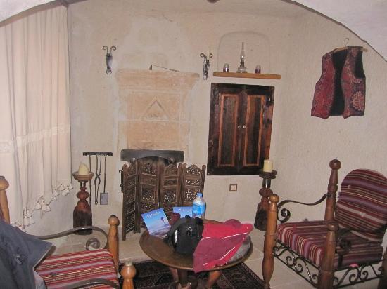 Koza Cave Hotel: zona giorno