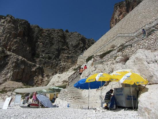 Kaputas Beach: Schirmverleih