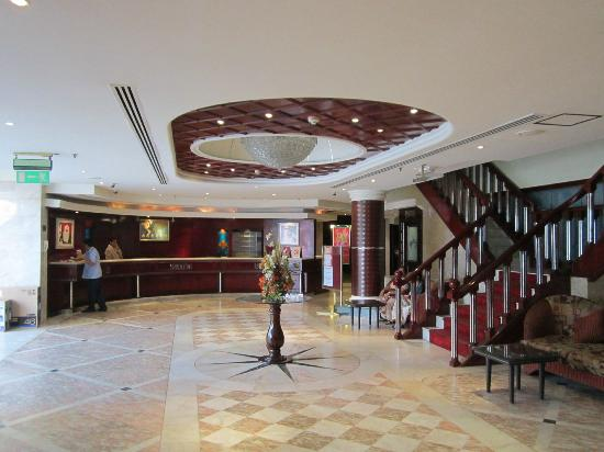 Imperial Suites Hotel: Reception