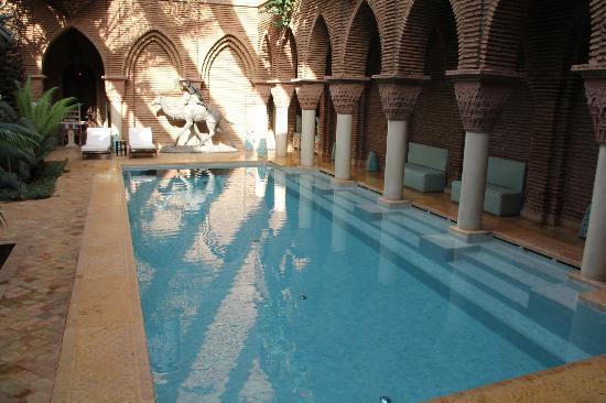 La Sultana Marrakech: la piscina