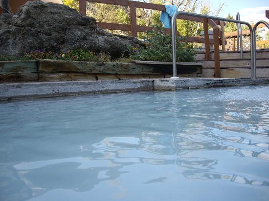 Hot Sulphur Springs Resort & Spa: Hot pool 2